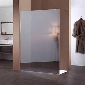 Miroir De Douche : paroi de douche sur mesure miroir en verre de type espion ~ Nature-et-papiers.com Idées de Décoration