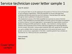 Service Technician Cover Letter Sample Field Service Technician Service Technician Cover Letter Service Technician Cover Letter Example Service Technician Resume Sample Resume Sample Kemplu Resume Letter