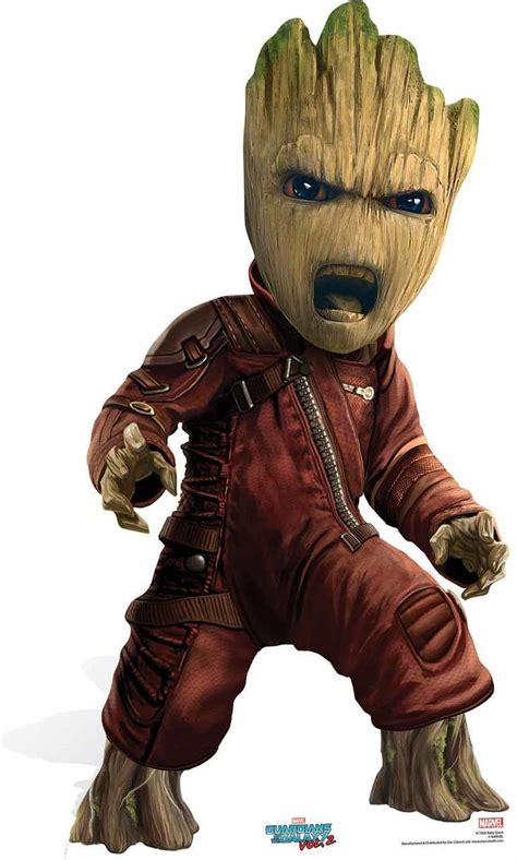 Halo 5 Guardians Wallpaper Baby Groot Guardians Of The Galaxy Vol 2 Cardboard Cutout Available Now At Starstills