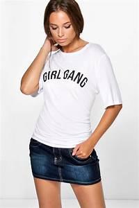 Gracie Denim Micro Mini Skirt   BooHoo   Pinterest   Micro mini skirts Mini skirts and Minis