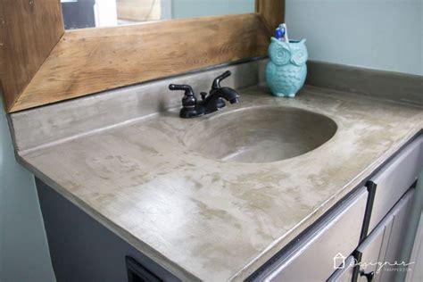 How's It Holding Up? Diy Concrete Vanity Update
