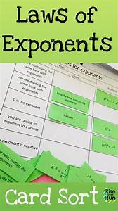 8th Grade Exponent Rules Review Worksheet
