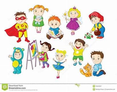 Activities Clipart Doing Different Fun Toddlers Happy