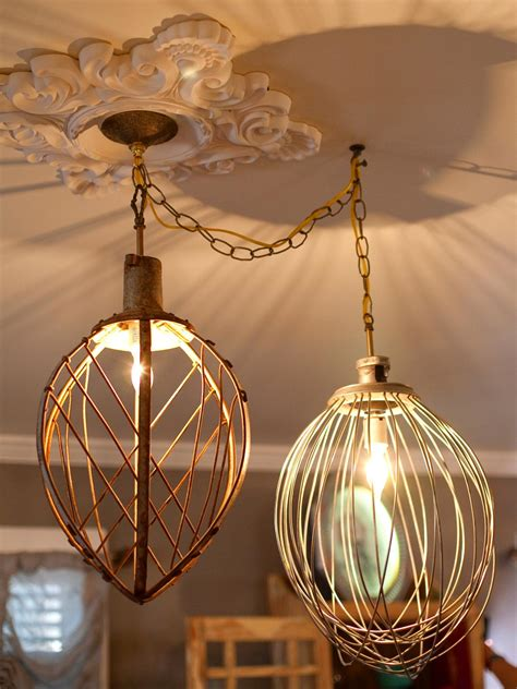 recycled light fixtures diy network made remade