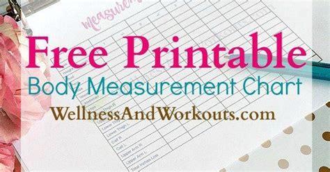 printable body measurement chart body measurement