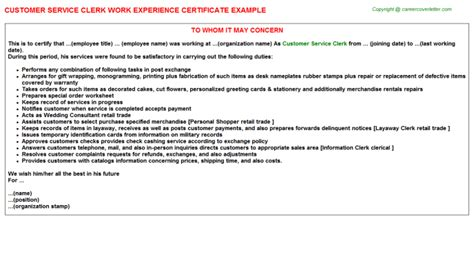 Another Word For Experience Resume by Work Experience Letter Word Format Cover Letter Sle Experience Certificate Request