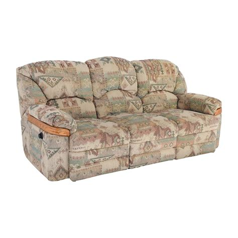 Patterned Loveseat by 82 Patterned Fabric Recliner Sofa Sofas