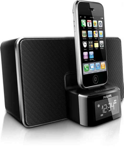 iphone radio philips dc220 clock radio dock for iphone ipod ca