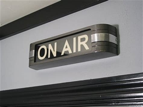 studio on air light ultimate recording broadcast studio on air sign light