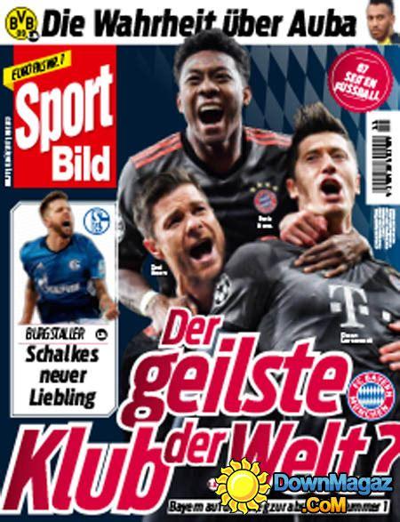 Sport Bild  15032017 » Download PDF magazines Deutsch