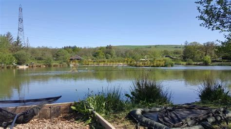 ponds fishery certificated site bampton campsites