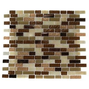 home depot kitchen wall tile splashback tile southern comfort brick pattern 12 in x 12 7136