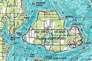 Chart C Mcneil Island And The Federal Penitentiary 1841 1981