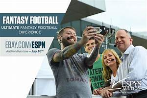 Cbs Sports Football Depth Charts Espys Auction Hang Out With Espn 39 S Experts And
