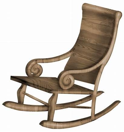 Chair Rocking Transparent Clipart Cartoon Furniture Yopriceville