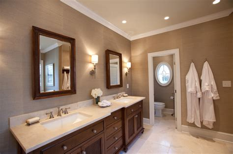 colonial master suite traditional bathroom