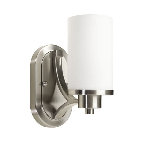 light fixture mounting bracket lowes ac1301pn parkdale 1 light 6 quot polished nickel wall bracket
