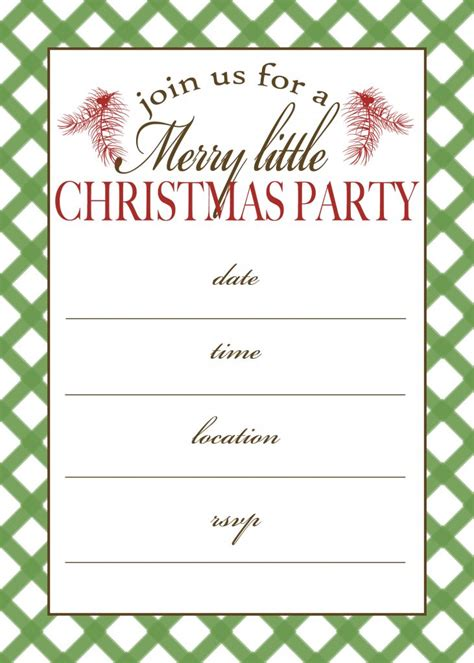 free printable christmas party invitation moritz fine