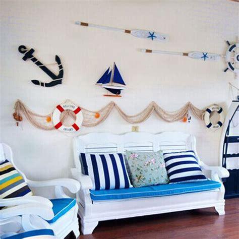 Fishing Net Sea Shell Starfish Hanging Home Wall