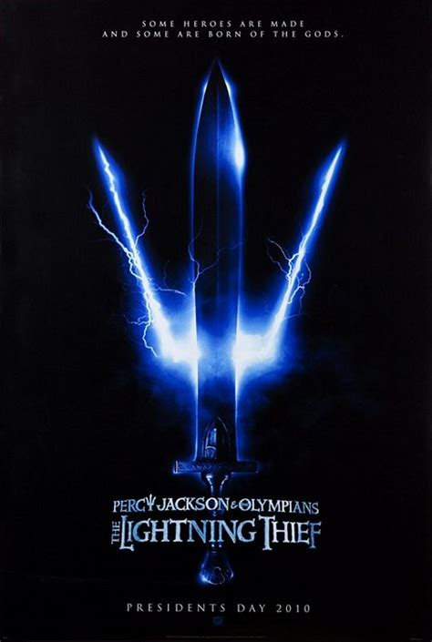 percy jackson and the lighting thief percy jackson the olympians the lightning thief 2010