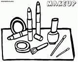 Coloring Makeup Face Tools Printable Coloringway Wallpaperartdesignhd Kit Eyeshadow Colorful Via Skin Popular Worksheets Colorings sketch template