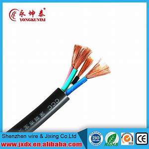 China 2 Core 3 Core 4 Core 5 Core 1 5mm 2 5mm Flexible Cable Color Code Electric Wire