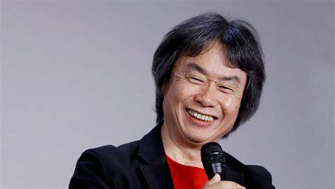 Mario Creator Shigeru Miyamoto Dedicated to
