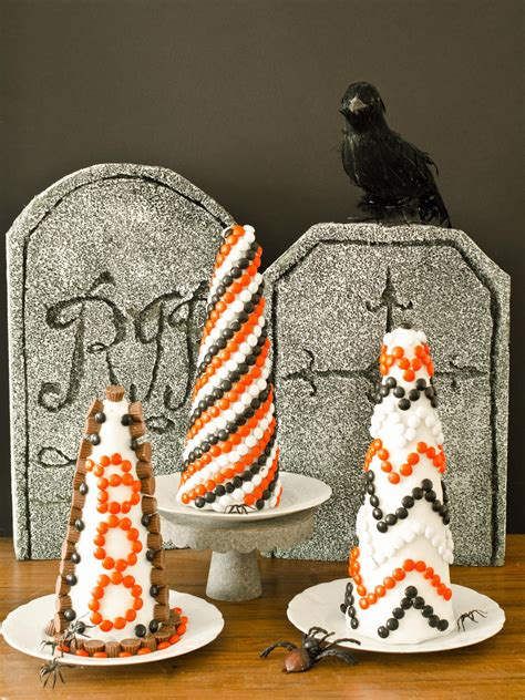 Halloween Decorating Idea Make A Candy Topiary Hgtv