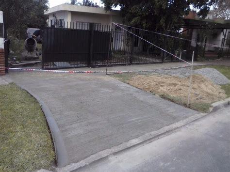 pisos veredas galpones patios cemento hormigon alisado
