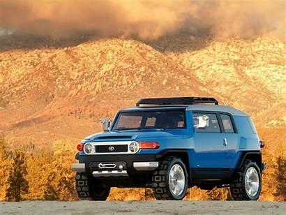 Fj Cruiser Toyota Wallpapers Concept Prototype 2003