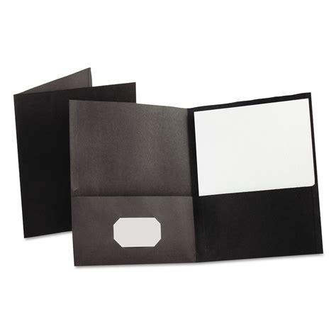 pocket folder clipart black and white pocket folder by oxford oxf57506 ontimesupplies
