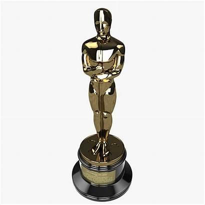 Oscar Award 3d Models Academy Cgtrader Statuette