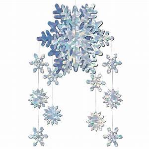 Deko Kristalle Zum Aufhängen : schneeflocken deko zum aufh ngen partydeko und g nstige faschingskost me vegaoo ~ Eleganceandgraceweddings.com Haus und Dekorationen