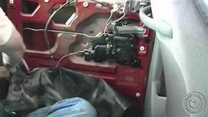Fix Jammed Stuck Sliding Door Latch On 2000 Dodge Caravan