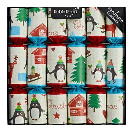 penguin party christmas crackers olde english crackers