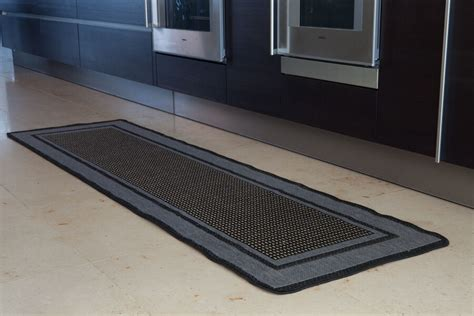 Rubber Backed Carpet Runners Doormats by Non Slip Grey Beige Border Design Rug Rubber Backed Flat