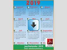Kalenders 2019 Gratis Downloaden en Printen? Feestdagen