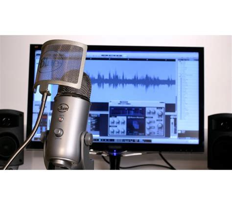 blue yeti professional usb microphone silver deals pc