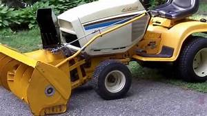 Cub Cadet 1862 With 451 Snow Thrower