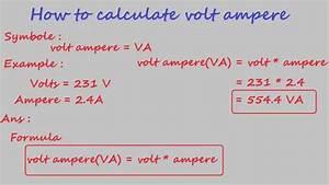 Watt Volt Ampere : how to calculate volt ampere electrical calculation ~ A.2002-acura-tl-radio.info Haus und Dekorationen