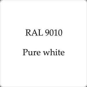 ral  cellulose car body paint pure white