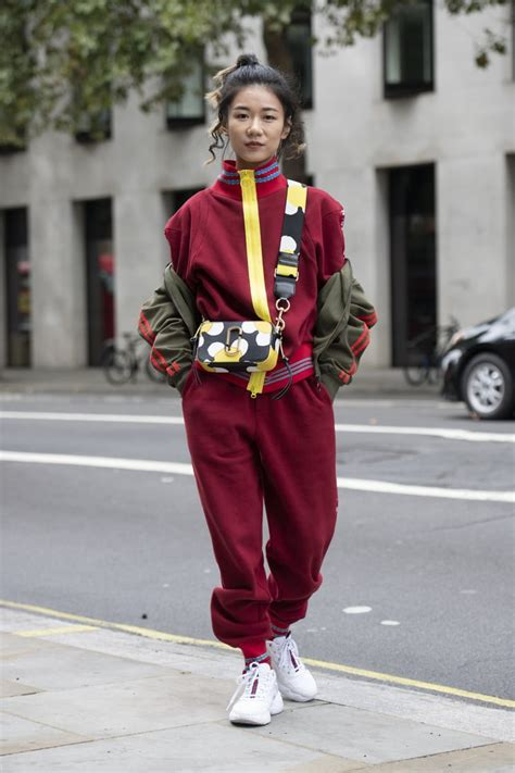 Tracksuit Street Style | '90s Trends That Are Coming Back ...