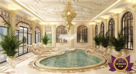 luxurious pool design