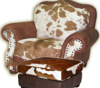 Cowhide Chair And Ottoman by Cowhide Chairs Free Shipping Cowhide Recliners
