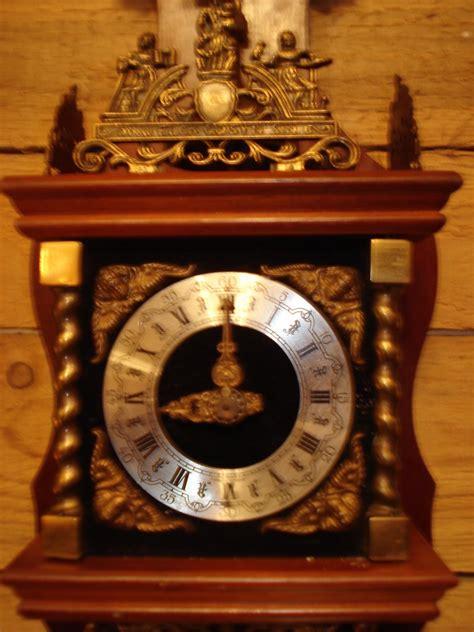 kleine hollaendische uhr zaanse clock friesische stuhl uhr