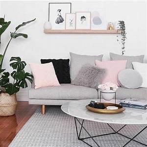 un salon en gris et blanc c39est chic voila 82 photos qui With couleur pour salon moderne 0 decoration salon moderne salle 224 manger