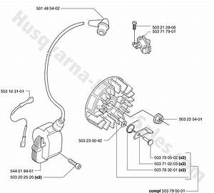 55 Husqvarna Chainsaw Ignition System Parts