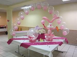 Decoration Pour Bapteme Fille : decoration naissance ~ Mglfilm.com Idées de Décoration