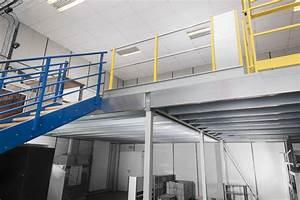 Mezzanine Metallique En Kit : mezzanine m tallique plateforme stockage industrielle ~ Premium-room.com Idées de Décoration