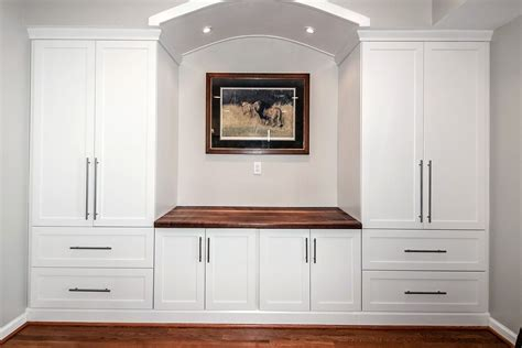custom built counter top wall unit design jeff